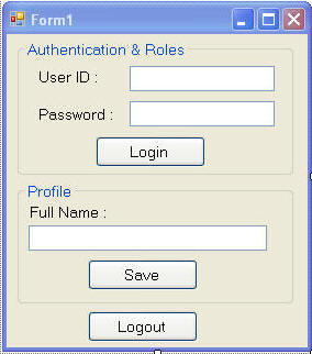 how to create login form in c windows application