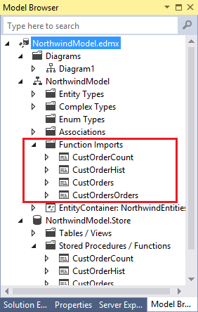 Working with Stored Procedures in Entity Framework - Part 2