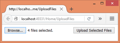 Updated : Upload Files in ASP NET Core 1 0 (Form POST and jQuery