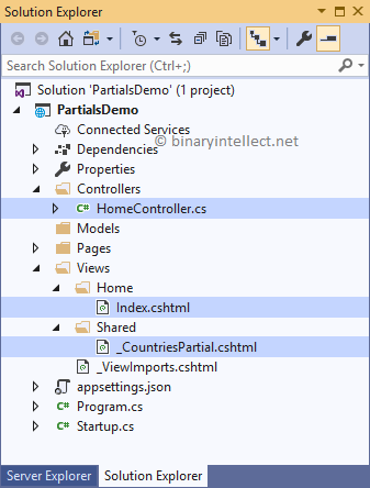 Reuse UI with Partial Views in ASP NET Core MVC and Razor Pages