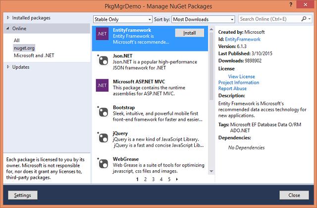 Prepare Yourself for ASP NET 5 - Part 2 (NuGet, Npm, Bower