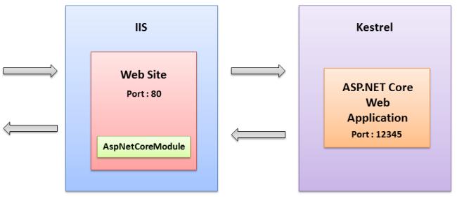 install iis component asp.net windows 10