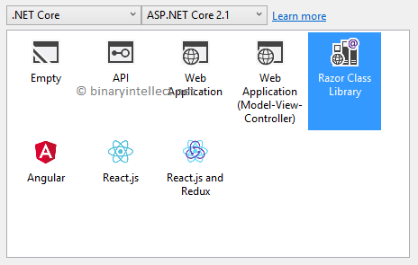 Reuse UI with Razor Class Libraries (RCL) in ASP NET Core