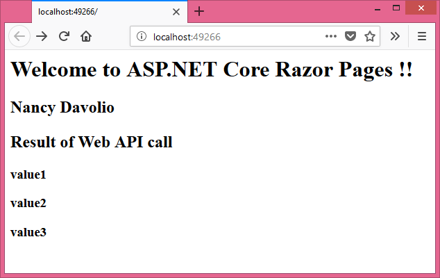 how to call web api in mvc