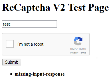 Integrate reCaptcha V2 in ASP NET Applications (Web Forms